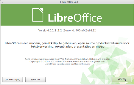 Libre Office 4.0.1.2